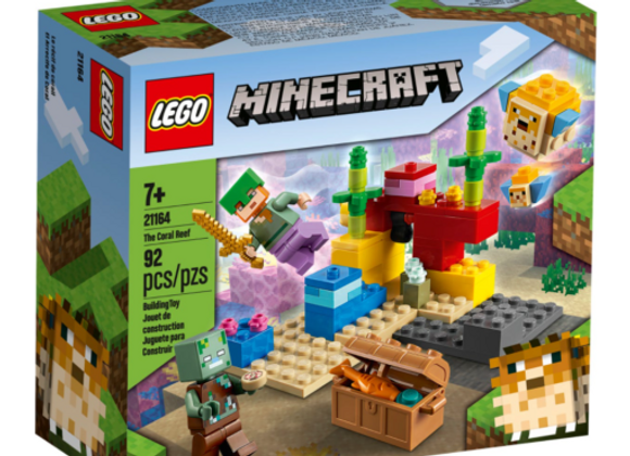 Lego לגו 21164 ריף האלמוגים