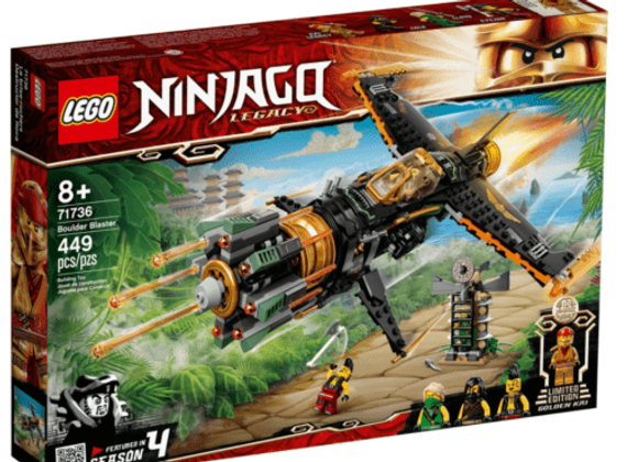 Lego לגו 71736 Boulder Blaster
