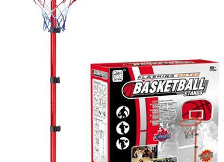 מתקן כדורסל רצפתי לילדים ונוער