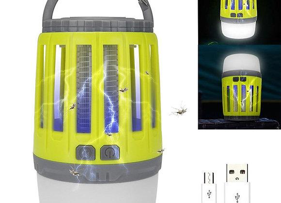 מנורת לד קוטלת יתושים בעלת 3 מצבים שונים | Bug Zapper