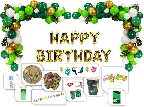 מארז יום הולדת טרופי ל12 חוגגים