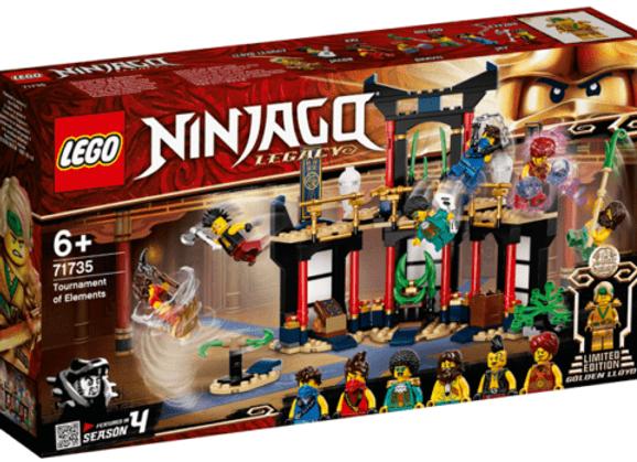 Lego לגו 71735 Tournament of Elements
