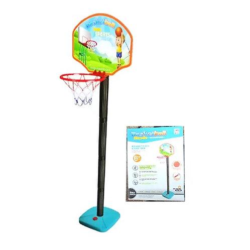 מתקן כדורסל לילדים כולל כדור ומשאבה!