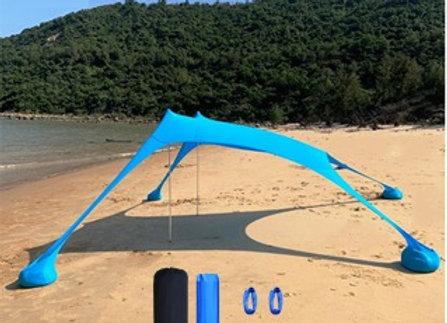 צילייה גדולה לחוף בגודל 2.30 מטר / 2.30 מטר
