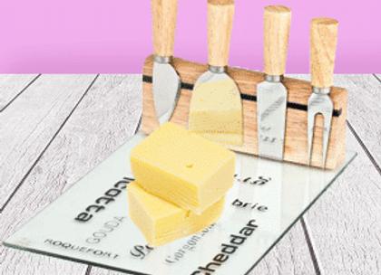 סט חיתוך והגשה מהודר – 5 חלקים