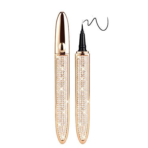 Eyeliner Lash Glue Adhesive Pen 2 in 1