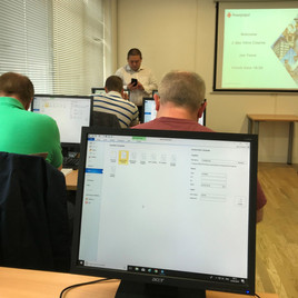 Diamond Fire Safety attends Asta Powerproject software training