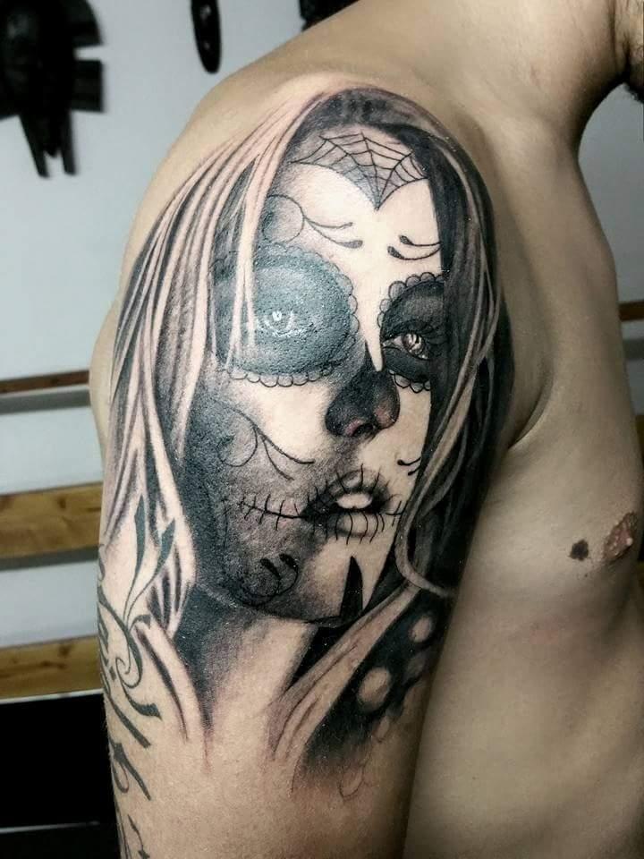 Derma Black Tattoo Tatoueur Nimes