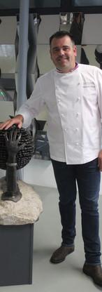 Chef Raoux à l'usine du May
