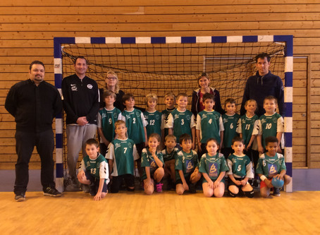 Tournoi mini handball du 19/11/2017
