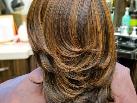 Silk Press & Haircut