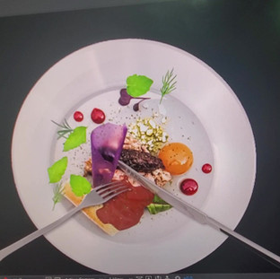 """Preparatory work on """"Dining Projection Mapping"""""""
