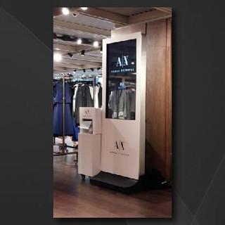 Armani Exchange Wi-fi Photobooth