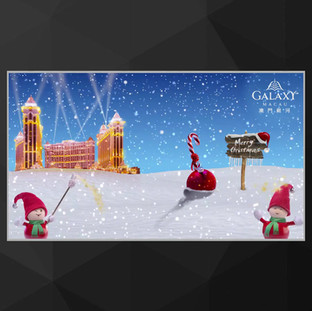 Galaxy Macau Christmas Photobooth