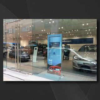 Volkswagen Digital Signage Solution