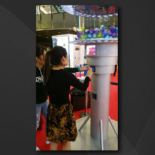 Macau Tower_Giant Digital Gumball Machine