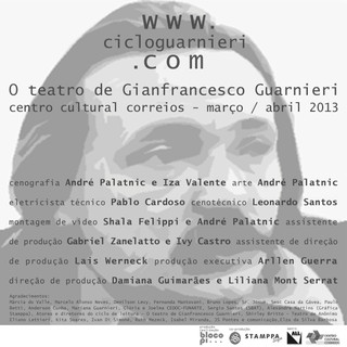 CICLO GUARNIERI - C. C. CORREIOS