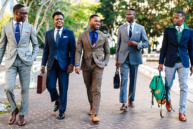 Young Men in suits Properly DRESSED.png