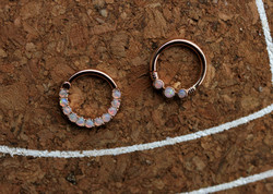 14kt Rose Gold and Opal Rings