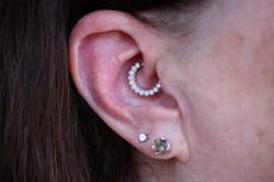 Daith Piercing // Santa Rosa Ring