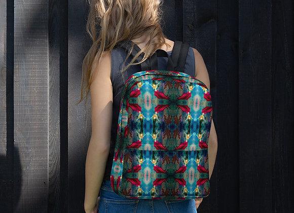 Mermaid Print Backpack
