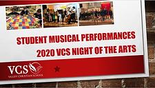 VCS Virtual Music Performances