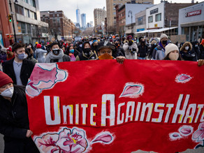 Hundreds march in NYC against violent racist attacks on Asians