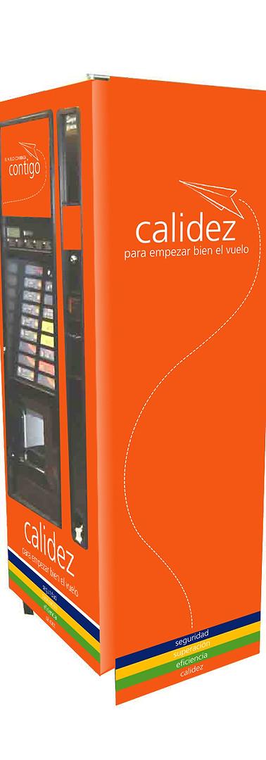 Rotulación Maquinas Café Latam/Cobranding Vendomatica