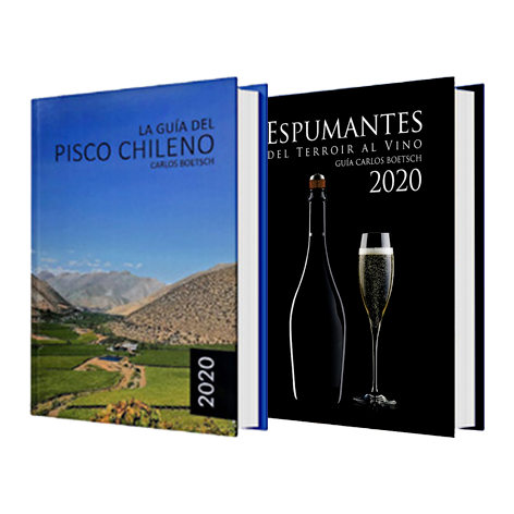 Marketing, Diseño y Edición de los Libros LA GUÍA DEL PISCO CHILENO Y ESPUMANTES, DEL TERROIR AL VINO.