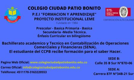 Ven y disfruta de nuestra propuesta educativa