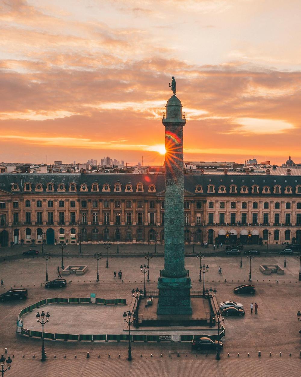 Place Vendôme depuis les toits