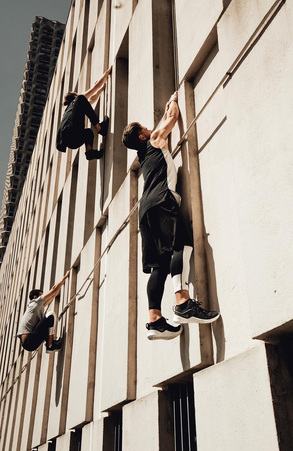 Parkour avec Nike Free X Metcon 4