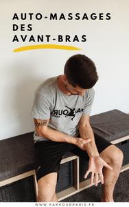 Auto-massages des avant-bras