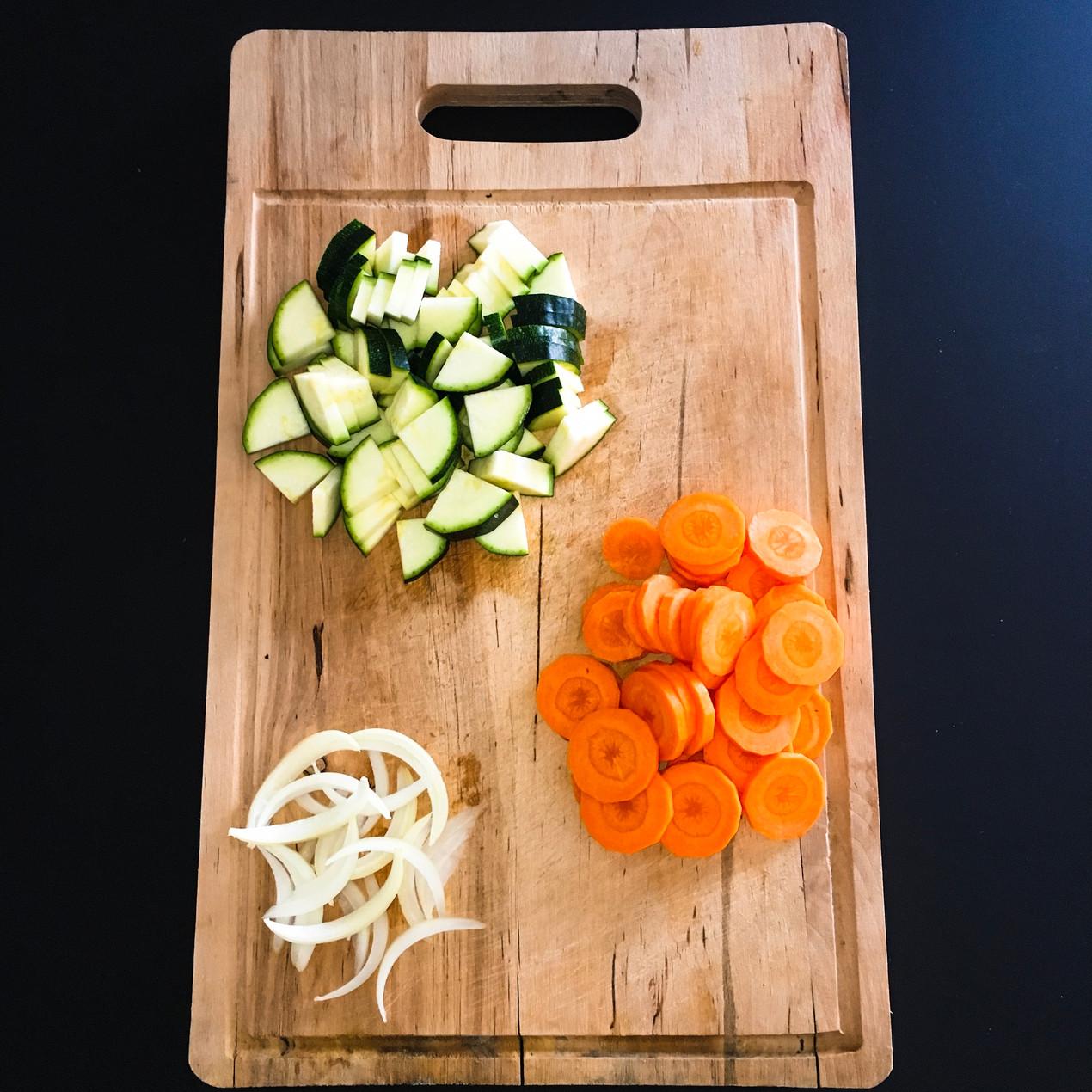 Mangez Simple, Mangez Sain : découpe légumes