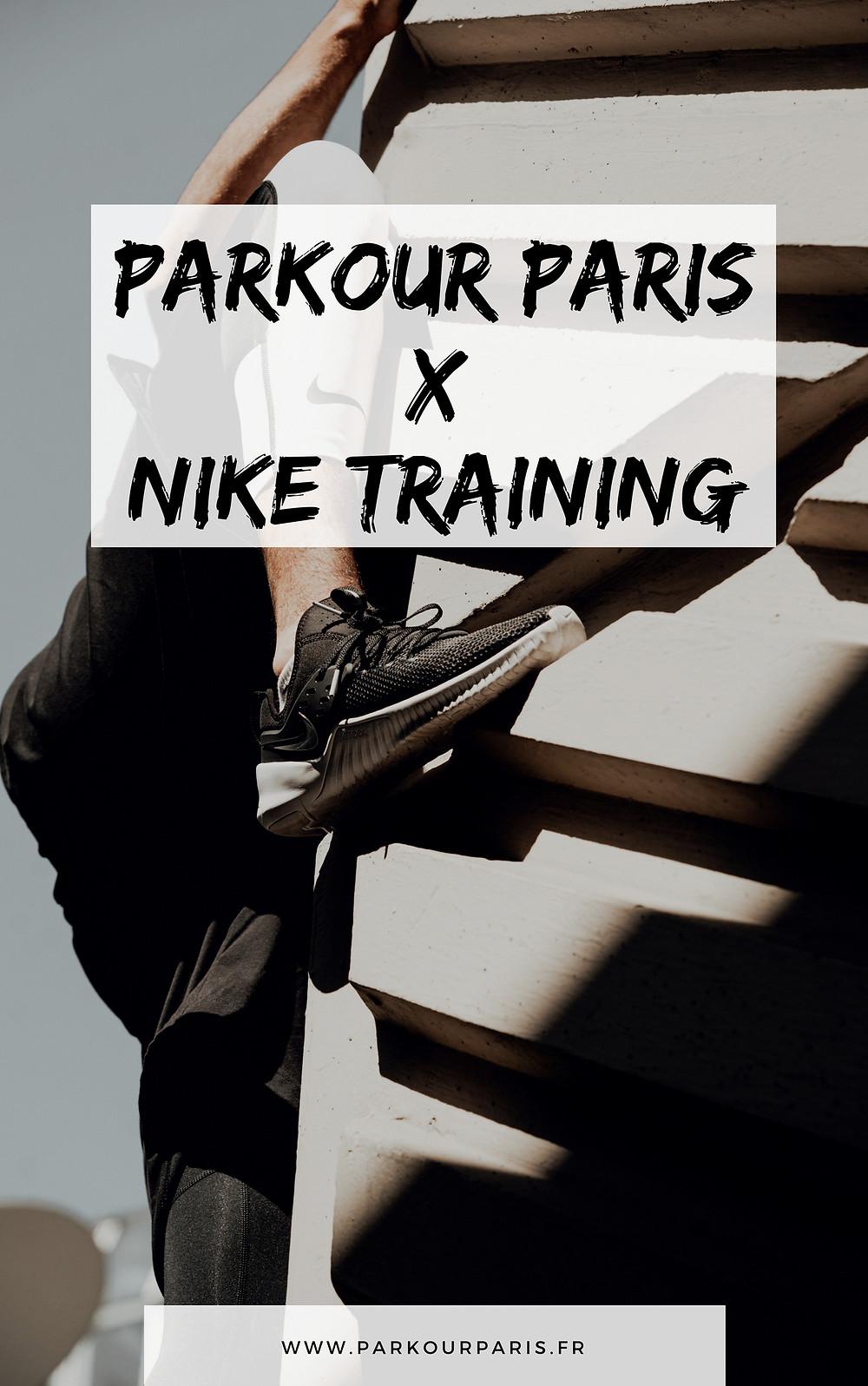 Parkour Paris X Nike Training