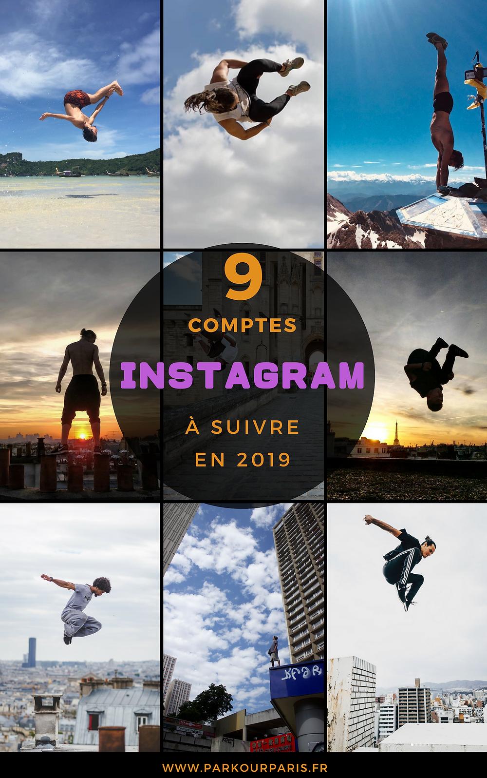 9 comptes Instagram à suivre en 2019