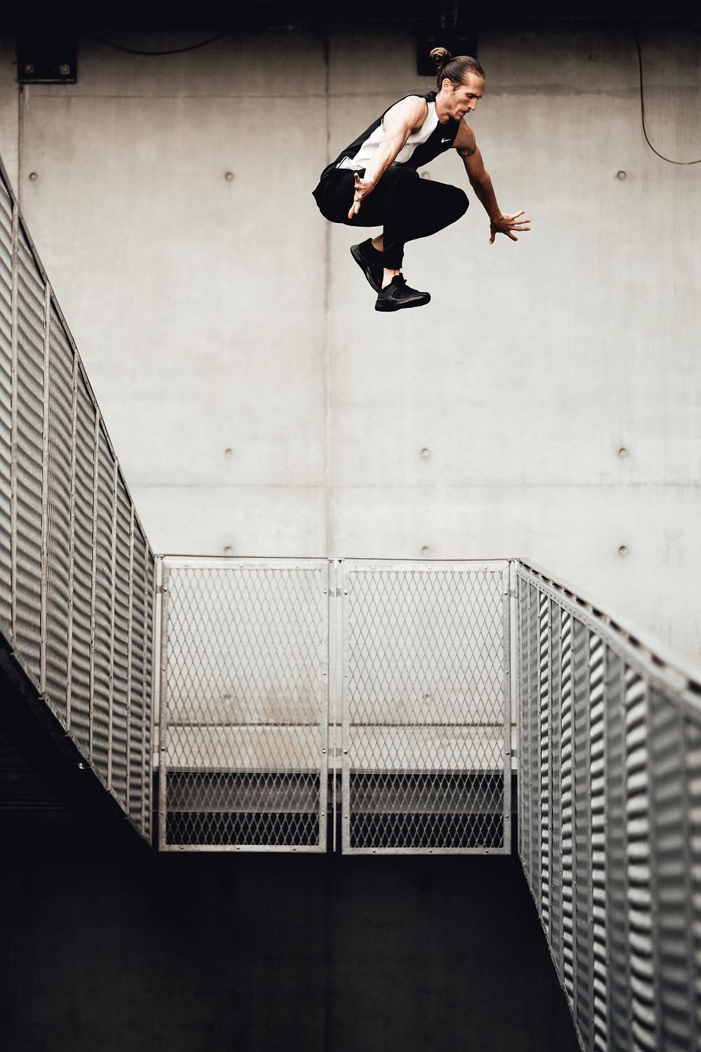 Parkour avec Nike Free X Metcon 3