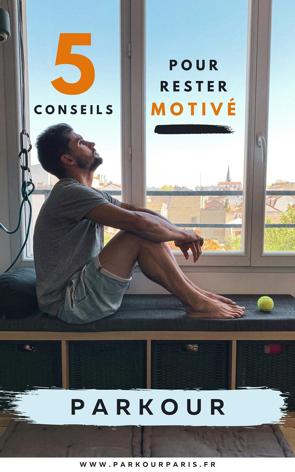 5 conseil pour rester motivé