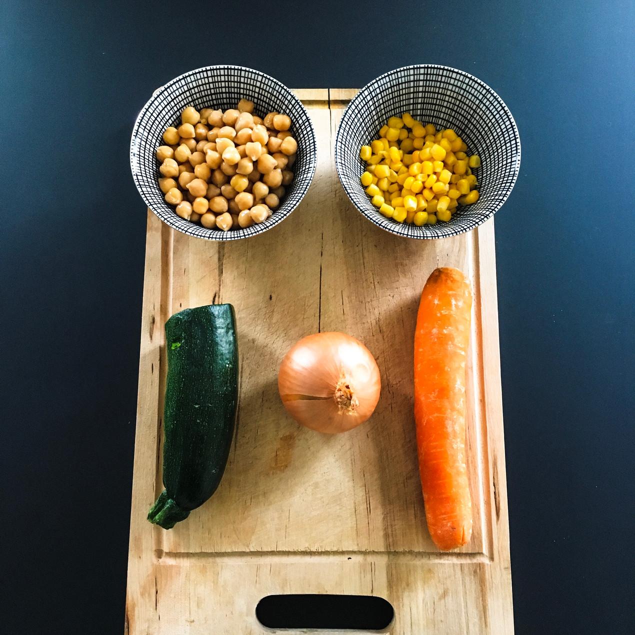 Mangez Simple, Mangez Sain : ingrédients