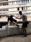 Parkour parkour sénior