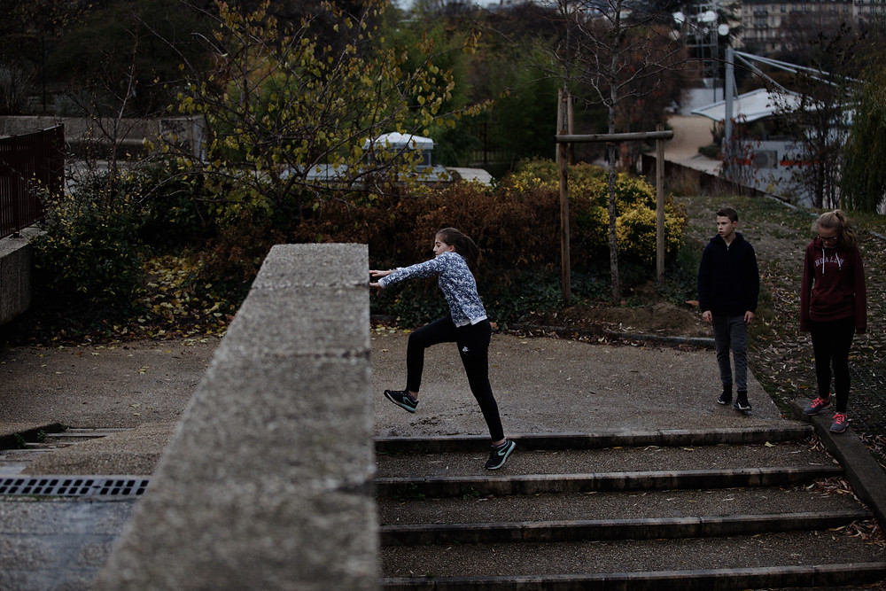 stage parkour