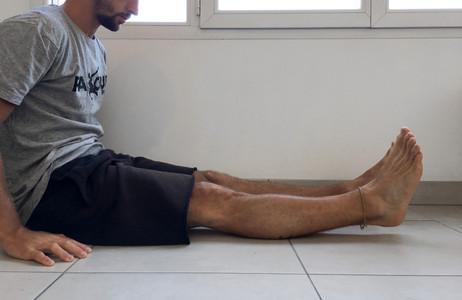 Extension terminale du genou