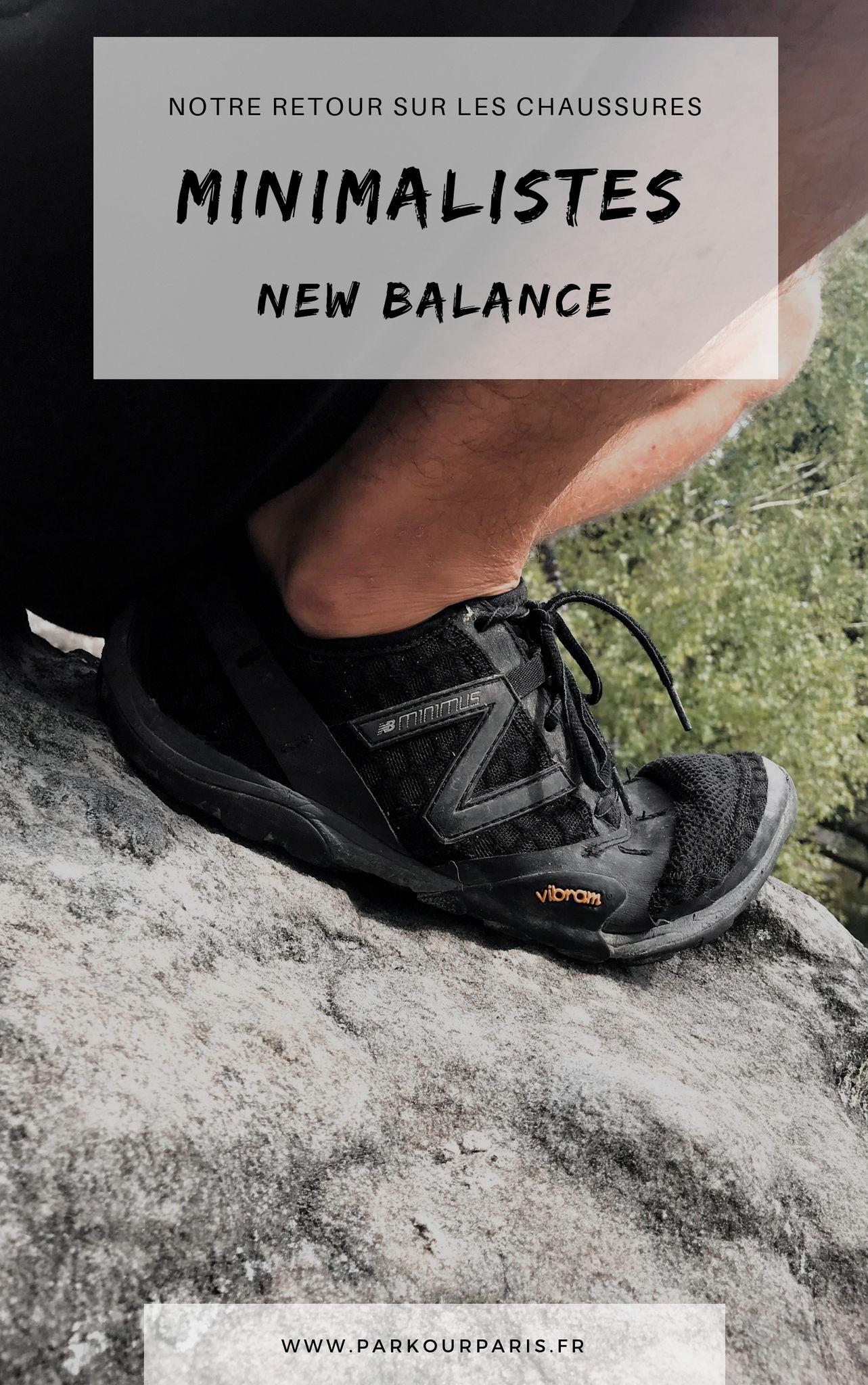 new balance chaussures minimalistes