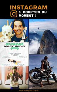 5 comptes Instagram du moment