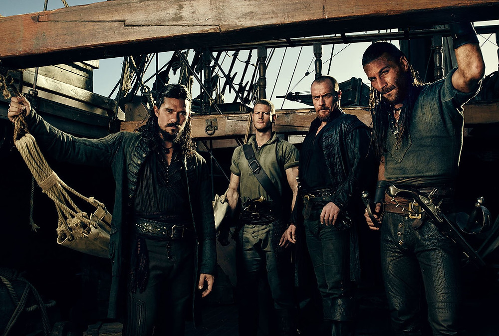Black Sails pirates cast photo