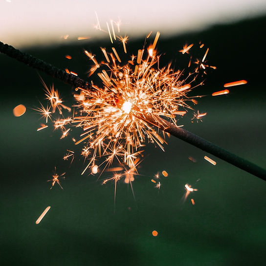 Sparkler for corporate events