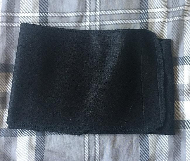 Black wrap Binder