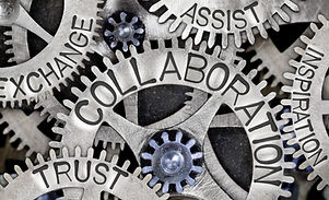 Macro%20photo%20of%20tooth%20wheel%20mechanism%20with%20COLLABORATION%2C%20EXCHANGE%2C%20TRUST%2C%20
