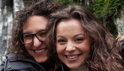 Gavia Lertzman-Lepofsky and Jessica Heaven