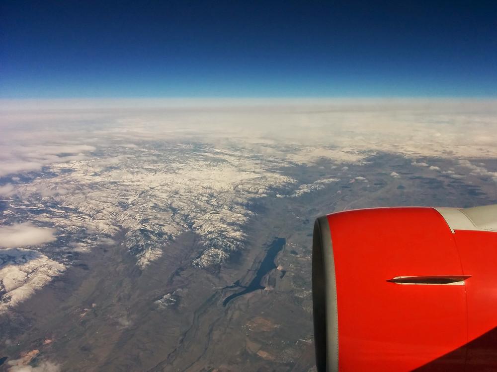 Vue aérienne Colorado